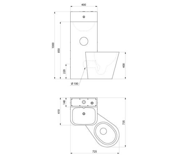 Technical drawing QS-V106707 / 162600