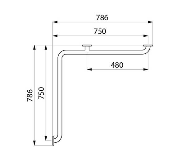 Technical drawing QS-V106017 / 5120P2