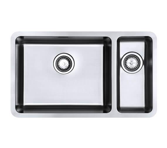 1810 Company Luxsoplusduo25 500-180U Left Hand 1.5 Bowl Kitchen Sink