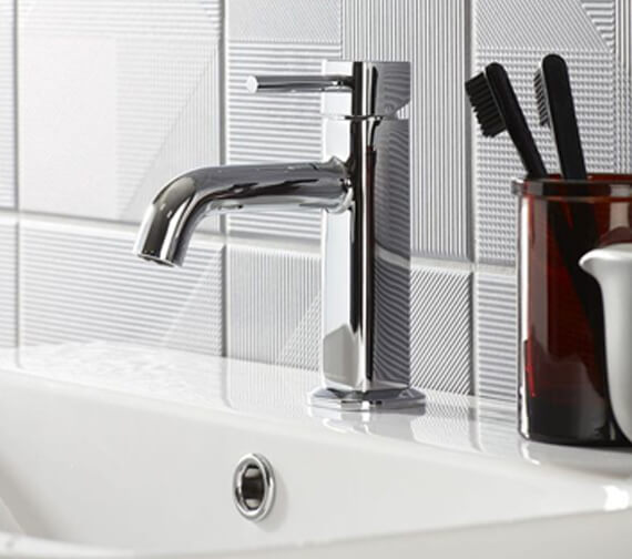 Roper Rhodes Node Single Lever Basin Mixer Tap With Click Waste