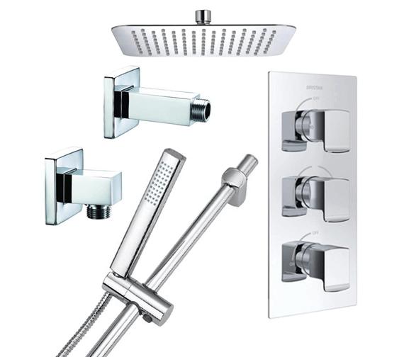 Bristan Descent Luxury Fixed Head Shower Pack