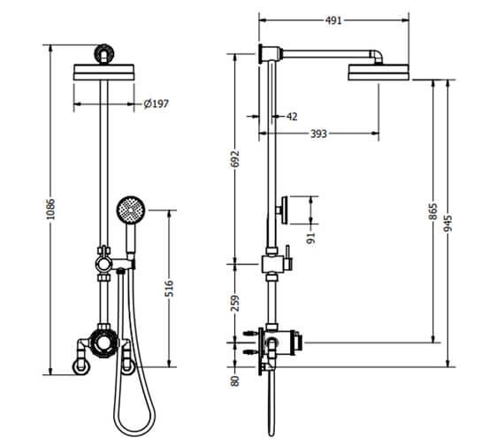 Technical drawing QS-V104679 / PRI_SLIDERC
