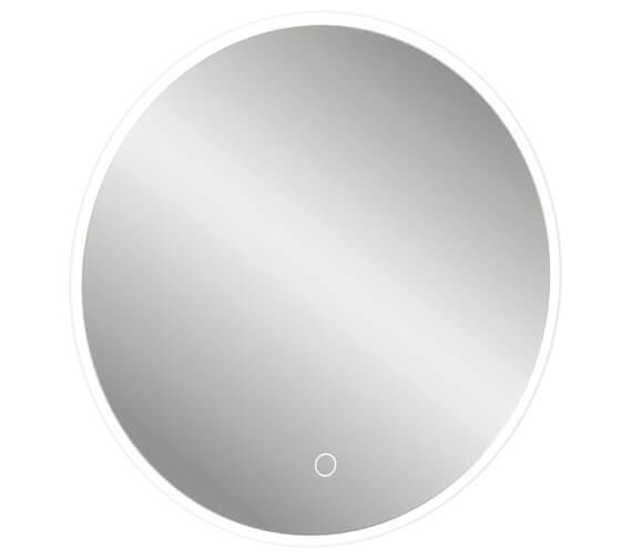Additional image of Crosswater Infinity LED Illuminated Round Mirror