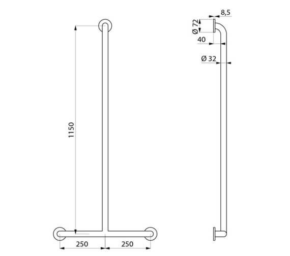 Technical drawing QS-V106026 / 5440P2