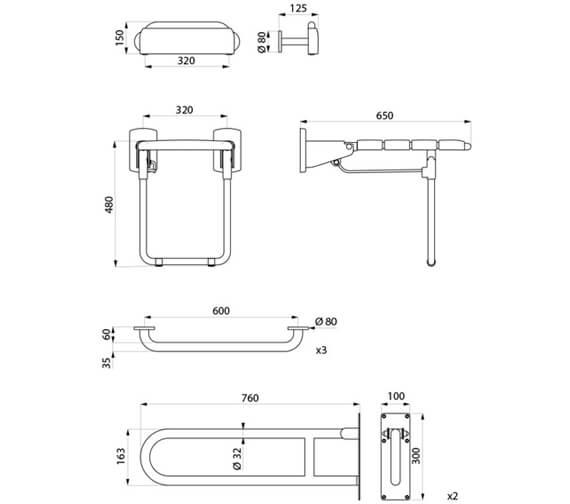 Technical drawing QS-V106036 / 510821MB