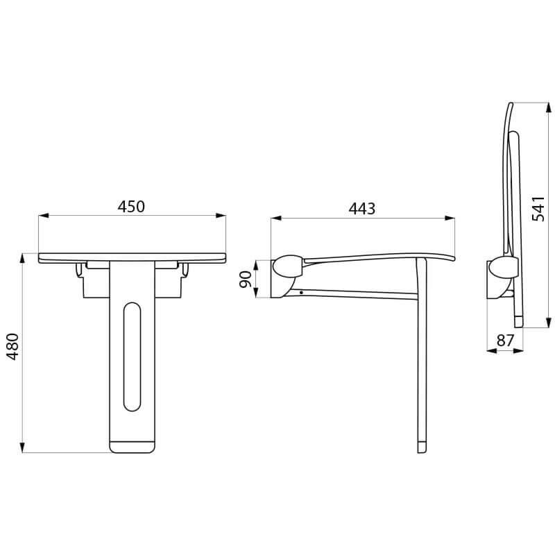 Technical drawing QS-V106034 / 511930C