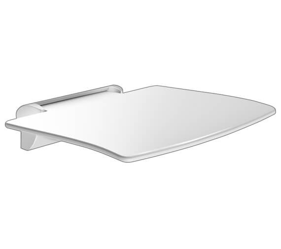 Additional image of Delabie Be-Line Removable Lift-Up Shower Seat
