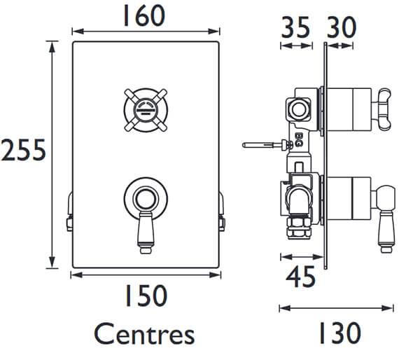 Technical drawing QS-V102643 / RS2 SHCVO C