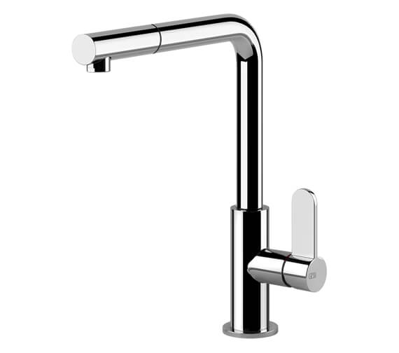 Gessi Aspire Rotating Sink Mixer Tap With Pull-Out Jet Handshower
