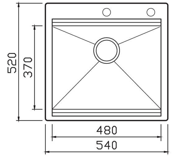 Additional image for QS-V104621 Clearwater Sinks & Taps - UCS001