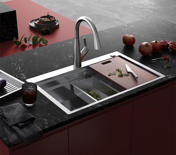 Alternate image of Clearwater Urban Smart Single Bowl Kitchen Sink