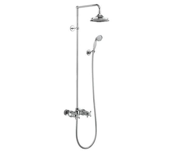 Burlington Eden 2 Outlet Exposed Thermostatic Shower Set