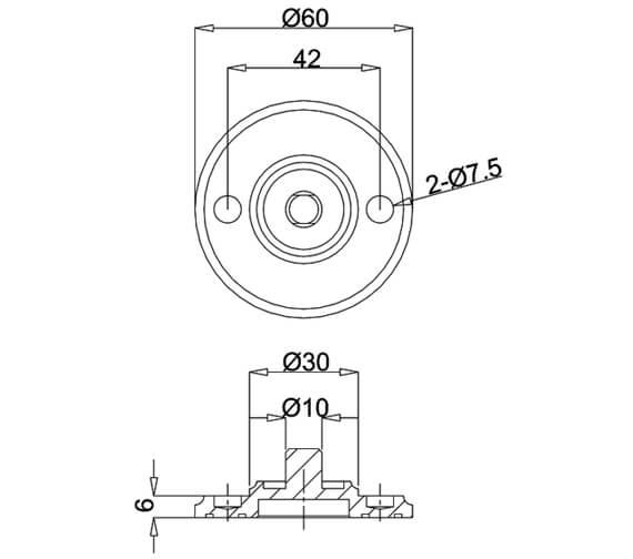 Technical drawing QS-V105981 / G13