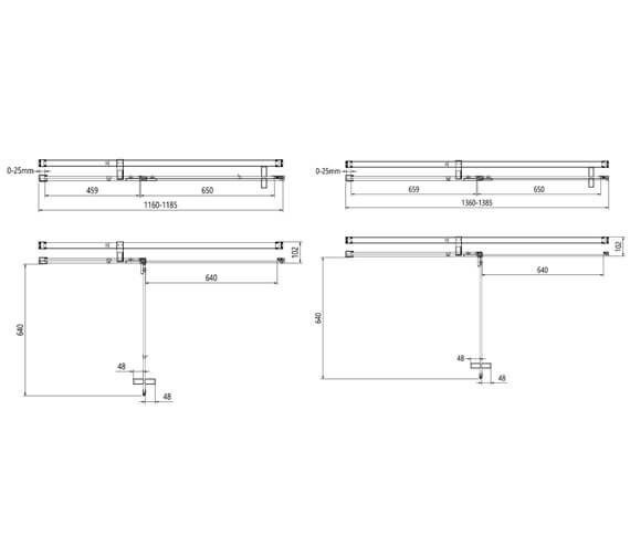 Technical drawing QS-V104626 / OXPDSC0800