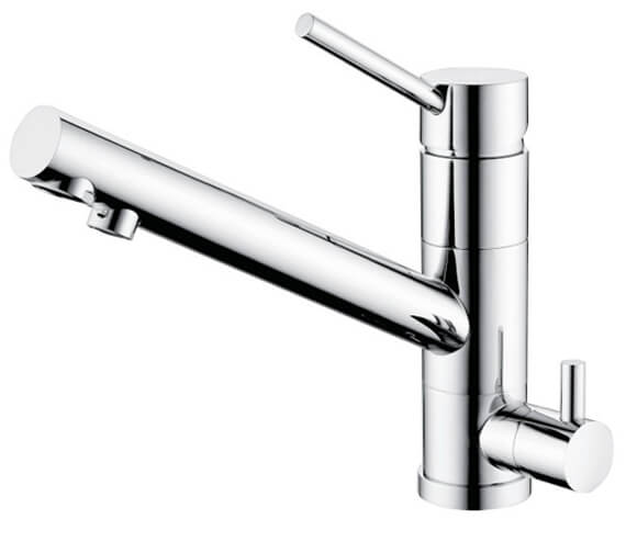 Clearwater Alpha Top Lever Mixer Tap With Cold Filter Cartridge
