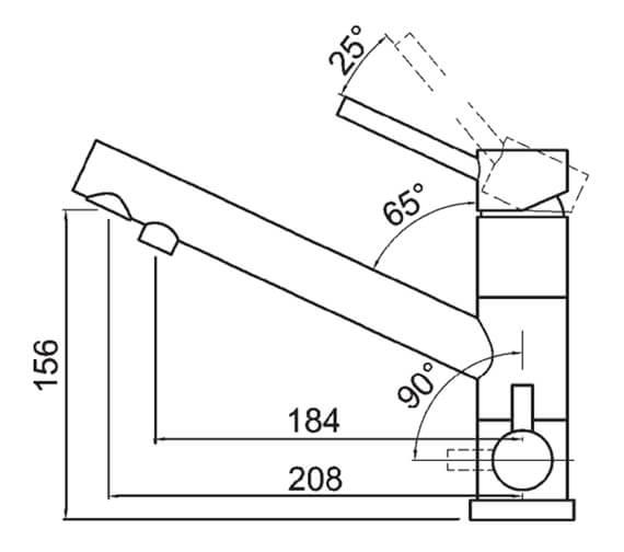 Technical drawing QS-V104616 / ALP2CP