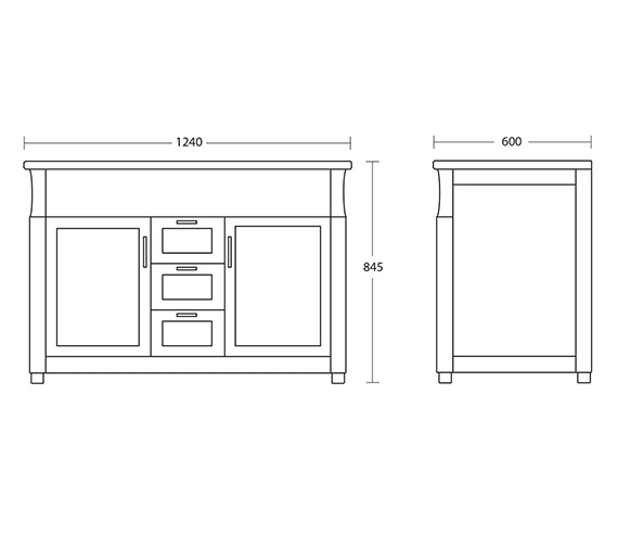 Technical drawing QS-V104110 / XWB0160020