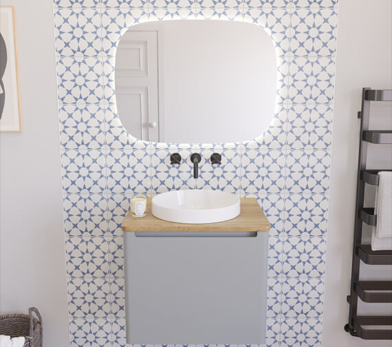Alternate image of Crosswater Artist Wall Mounted Single Drawer Vanity Unit