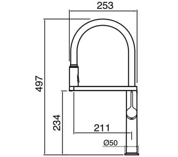 Technical drawing QS-V104636 / GAL10CP