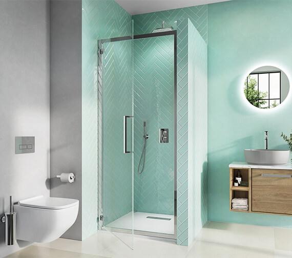 Crosswater Infinity Hinged Shower Door