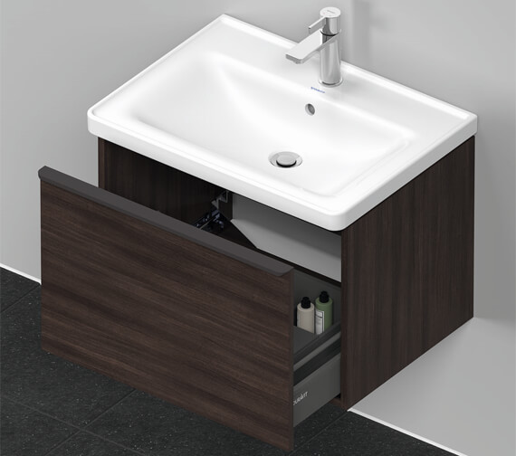 Alternate image of Duravit D-Neo Wall Mounted Vanity Unit For Vero Air Basin