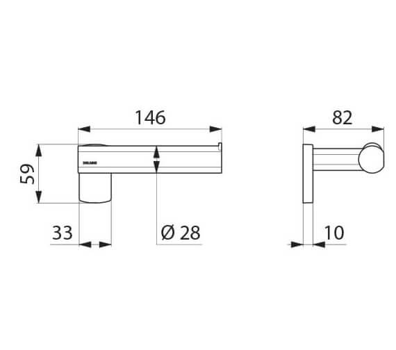 Technical drawing QS-V106068 / 511966W