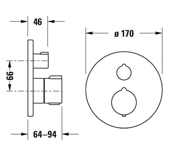 Technical drawing QS-V98207 / C14200016010