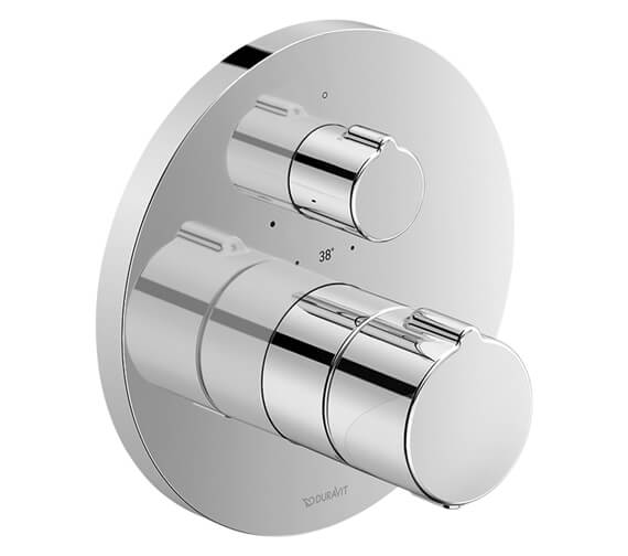 Duravit White Tulip Concealed Thermostatic Shower Mixer Valve - External Body