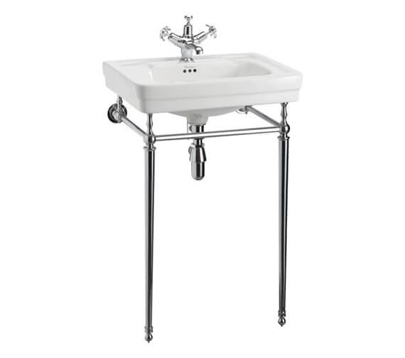 Alternate image of Burlington Contemporary 580 x 470mm White Washbasin