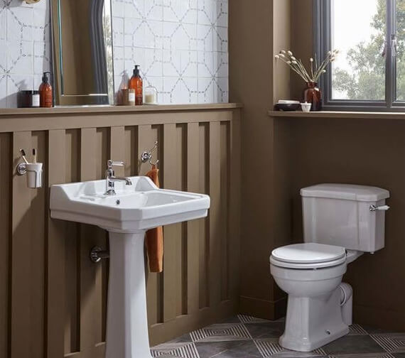 Roper Rhodes Harrow Close Coupled WC And Cistern