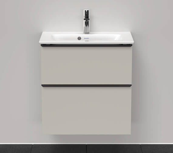 Duravit D-Neo Two Drawer Wall Mounted Vanity Unit For Me By Starck Basin