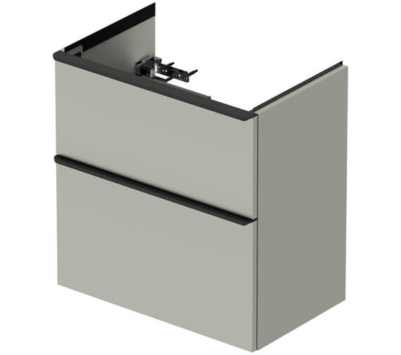 Alternate image of Duravit D-Neo Two Drawer Wall Mounted Vanity Unit For Me By Starck Basin