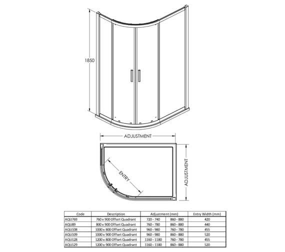 Technical drawing QS-V38839 / AQU769