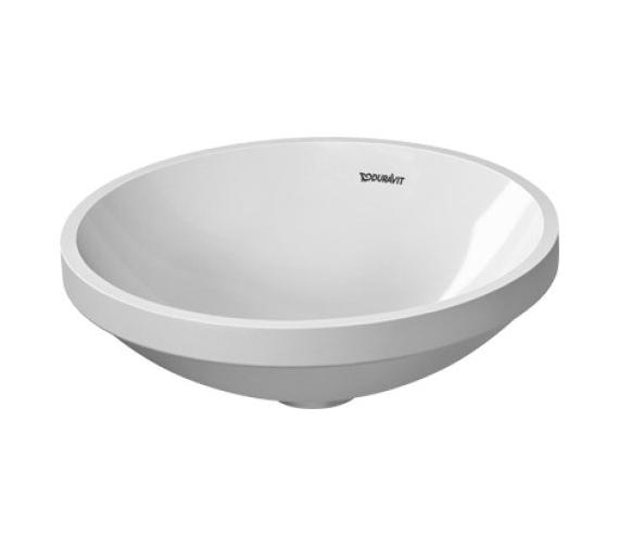 Duravit Architec Circular Undercounter Vanity Basin 375mm - 0319370000