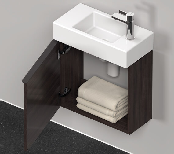 Additional image of Duravit D-Neo 484mm Wide Wall-Mounted Vanity Unit For Vero Air Basin
