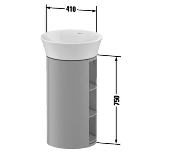 Technical drawing QS-V98211 / WT423903636