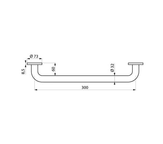 Technical drawing QS-V106746 / 5050MN
