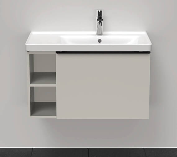 Duravit D-Neo 784mm Wide Wall Mounted Vanity Unit For Vero Air Basin