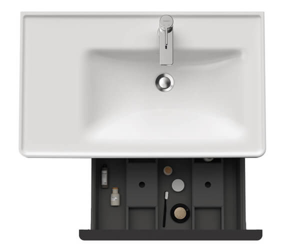 Alternate image of Duravit D-Neo 784mm Wide Wall Mounted Vanity Unit For Vero Air Basin