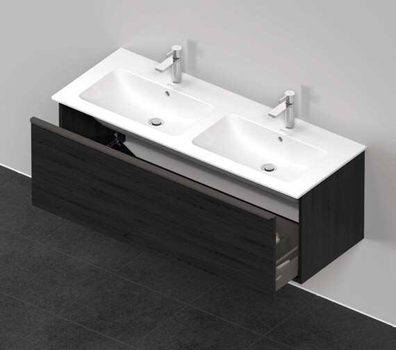 Additional image of Duravit D-Neo 1280mm Wide Wall Mounted Vanity Unit For Me By Starck Basin