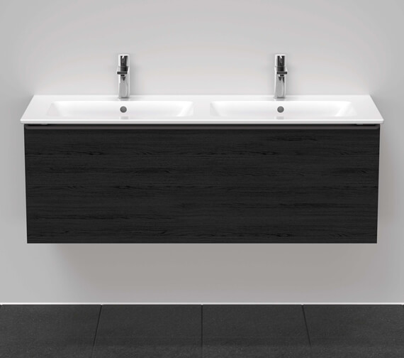 Duravit D-Neo 1280mm Wide Wall Mounted Vanity Unit For Me By Starck Basin