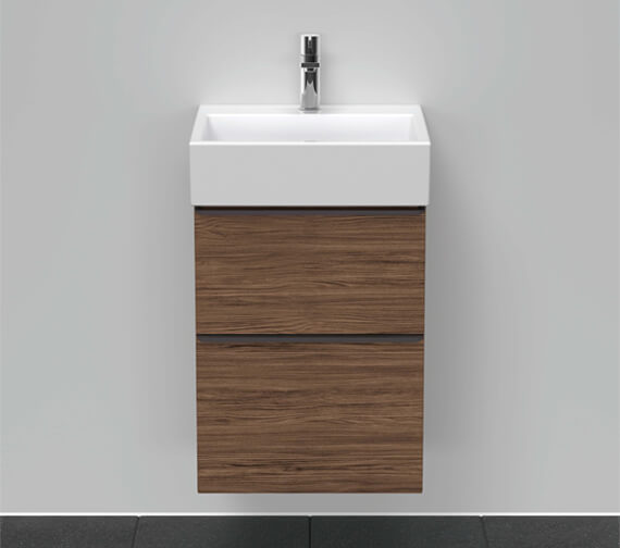 Duravit D-Neo Two Drawer Wall Mounted Vanity Unit For Vero Air Basin
