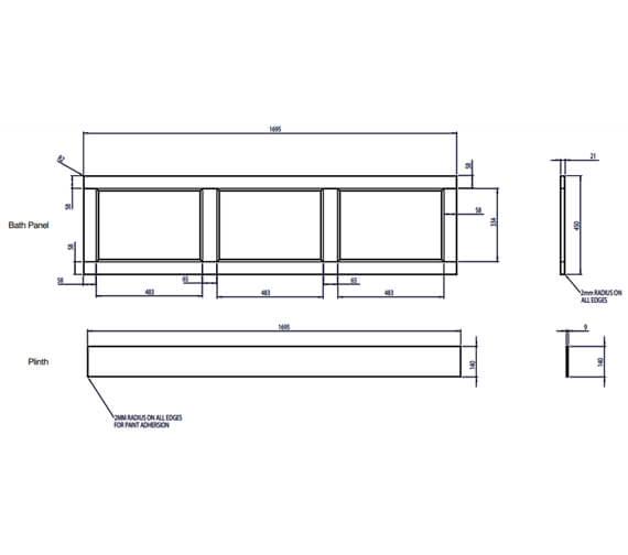 Technical drawing QS-V79374 / BP900.MC