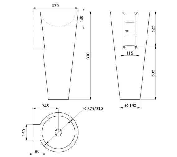Technical drawing QS-V106719 / 120170