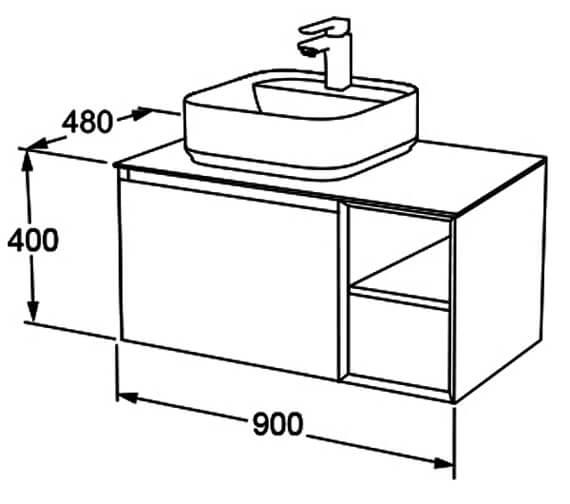 Technical drawing QS-V105053 / FZHF2780-900-B0026