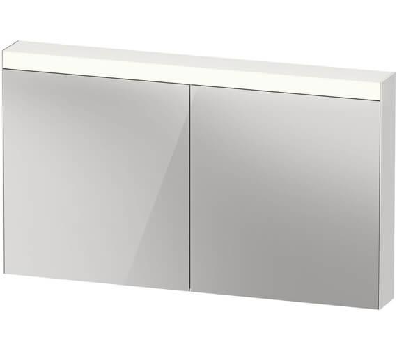 Alternate image of Duravit Double 760mm Height Mirror Door Cabinet