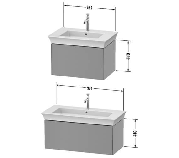 Technical drawing QS-V98214 / WT424106060