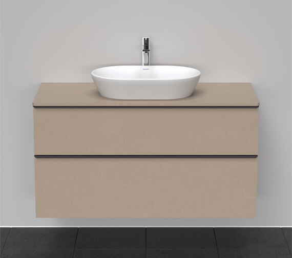 Duravit D-Neo 2 Drawer Wall Mounted Vanity Unit