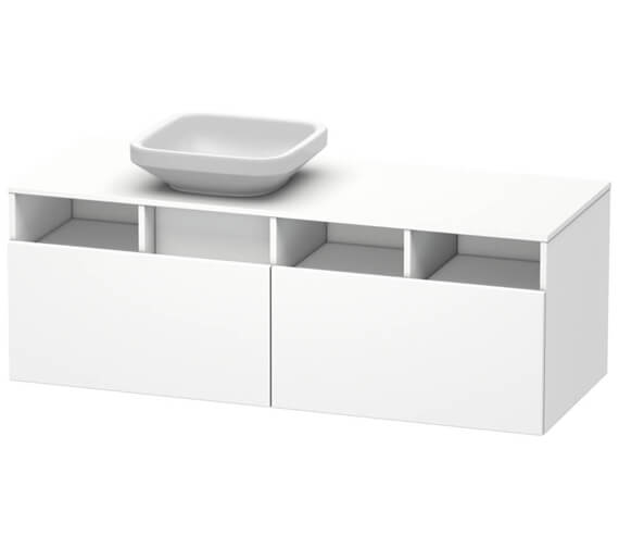 Duravit DuraStyle 1400mm 2 Pull Out Compartment Unit - More Variants Available