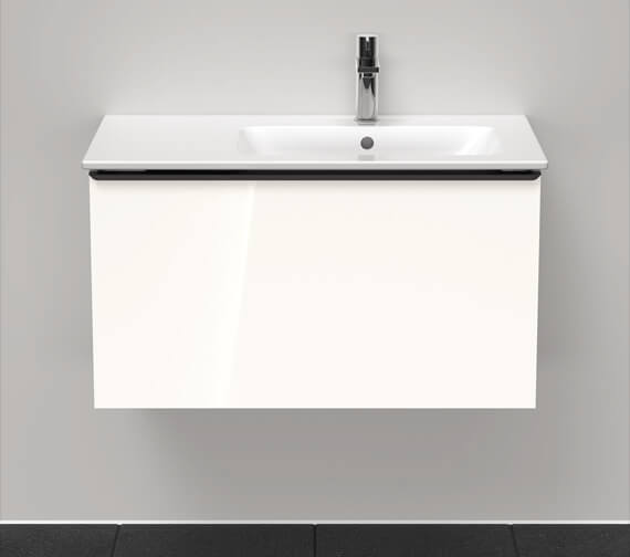 Alternate image of Duravit D-Neo 1 Drawer Wall Mounted Vanity Unit For Me By Starck Basin